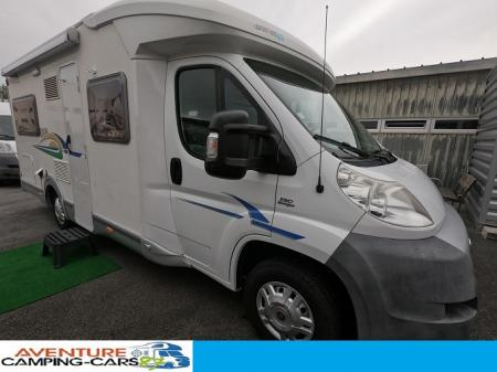 camping car CHAUSSON FLASH 08 modele 2009